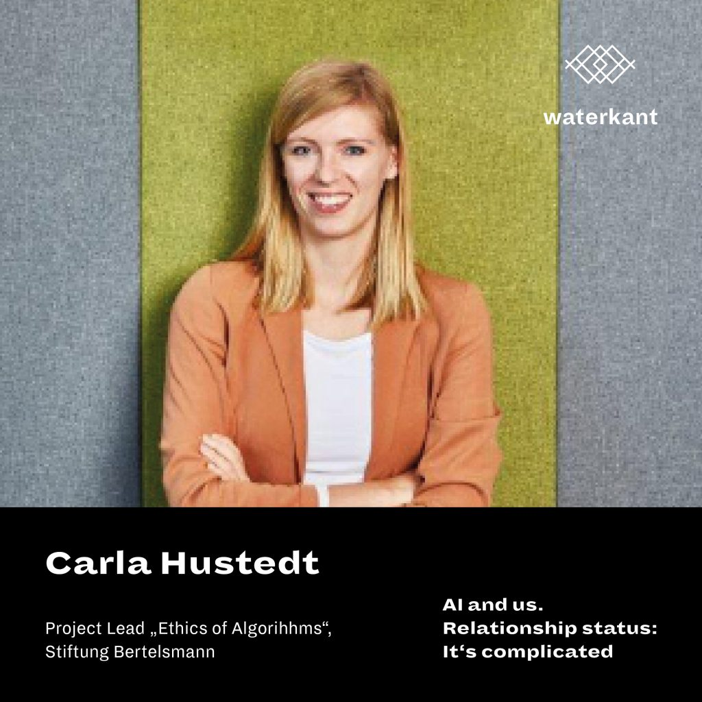Carla Hustedt | AI and us. Relationship status: It's complicated