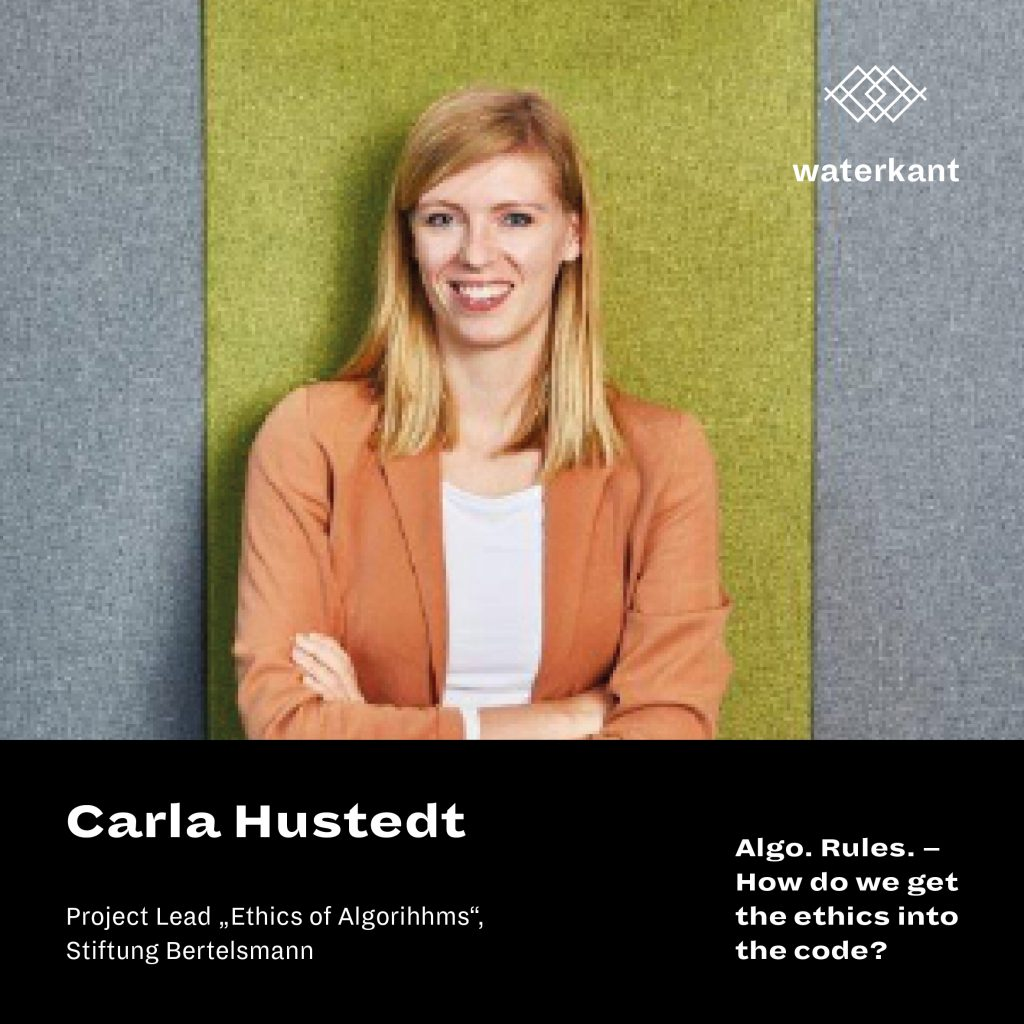 Carla Hustedt | Algo.Rules – How do we get the ethics into the code?