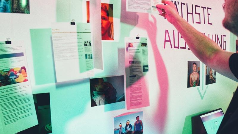 Ausstellung Datenhoheit Vincent Timm
